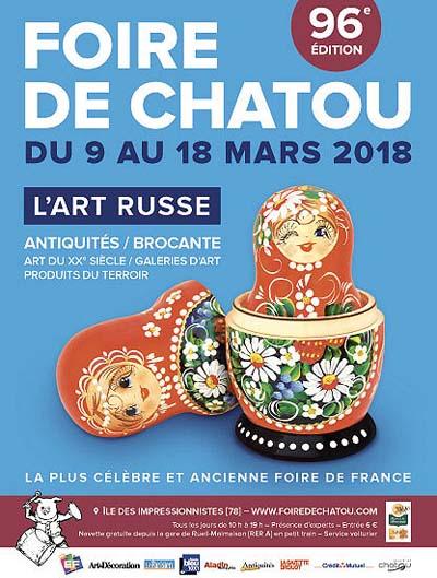 Foire De Chatou 2019 Foire Nationale Antiquites Brocante Jambons Ile