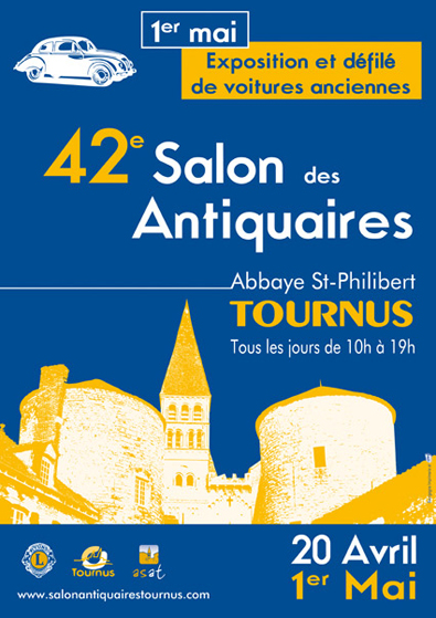2018 salon des antiquaires de tournus a l 39 abbaye saint for Salon antiquaires 2017