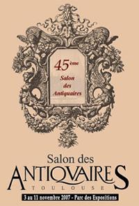 Agenda 2007 salons des antiquaires calendrier 2007 foires for Salon des antiquaires toulouse