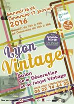 2016 vintage beaux salons foires expositions sur les meubles et objets ann es 60 - Salon de la mode vintage lyon ...